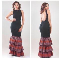 Look fly ... It's jus an African wear