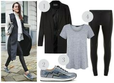sneakers, grey, stylish, sophisticated