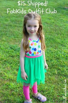 One of the best destinations for children's clothing I've ever found! B1G1 free outfits regularly, $10 dresses, free shoes with purchase, and your first outfit for $15 and free shipping! #FabKids