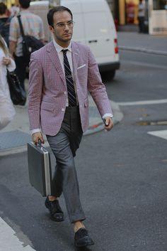 Thom Browne suit