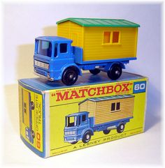 Matchbox 60b Site Hut Truck (1966)