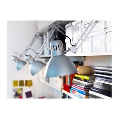 TERTIAL Work lamp IKEA Adjustable arm and head makes it easy to direct the light.