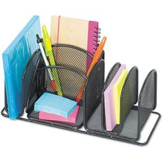 option for mail holder $14.34 walmart.com Safco Deluxe Organizer, Steel