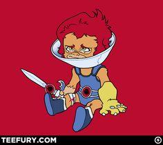 Lion-Ow by DoOomcat - $10 shirt sold on April 12th at http://teefury.com - More by the artist at http://www.dooomcat.com