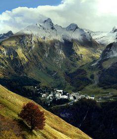 Gourette Valley, Pyrenees Mountains, Spain