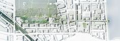 Masterplan by SLA and Saunders Aims to Alleviate Flooding in Copenhagen,Project Plan. Image © SLA / Beauty and the Bit