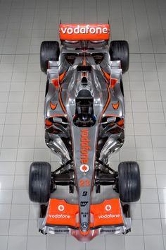 Mercedes Benz McLaren F1 team - 2008 McLaren MP4-23 Image
