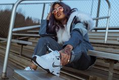 This Is How to Style the Nike Air Monarch: Meet your new favorite dad shoe. Nike Outfits, Outfits For Teens, Party Outfits, School Outfits, Nike Air Monarch, Nike Dad Shoes, Best Sneakers, Dad Sneakers, Urban Looks