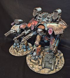 Crazy amount of freehand on these titans.