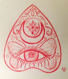 planchette tattoo - Google Search