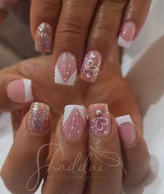 Manicure Nail Designs, Acrylic Nail Designs, Nail Manicure, Acrylic Nails, Mani Pedi, Pedicure, Neutral Nails, Beauty Spa, Nail Spa