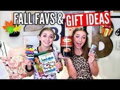 Fall Favorites & Gift Ideas | Brooklyn and Bailey - YouTube