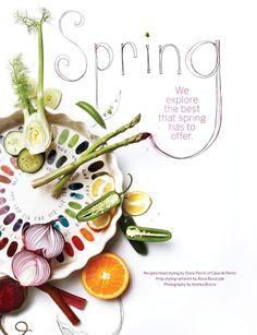 Spring food via Sweet Paul Magazine