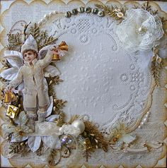 Victorian Scrap Christmas page