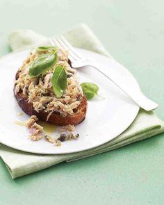 Open-Faced Tuna Sandwich