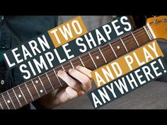 Going over a great way to start exploring the fretboard using one of two SUPER simple two-note shapes. Blues Guitar Chords, Easy Guitar Chords, Guitar Strumming, Easy Guitar Songs, Guitar Riffs, Music Chords, Ukulele Chords, Free Guitar Lessons, Acoustic Guitar Lessons
