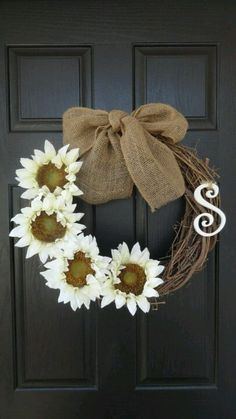 Simple DIY wreath!'Want to try this!!