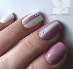 25 Amazing Winter Nail Colors which Blend with the Color of Snow Classy Nails, Stylish Nails, Cute Nails, Pretty Nails, Hair And Nails, My Nails, Dream Nails, Beautiful Nail Designs, Perfect Nails