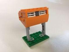 LEGO Dutch Mailbox PostNL TNT Orange Oranje Brievenbus - MOC | eBay