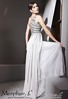 377ba8e74710 Silver One Shouder Sexy Prom Formal Ball Long Evening Dress Ball Gowns  Evening, Evening Dresses