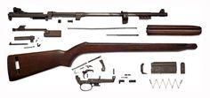 U.S. Rifle M1 Carbine Exploded. (candrsenal.com)