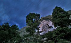 Foto de la web www.meencantamurcia.es donde se puede encontrar información sobre nuestro monte y sus historias. Murcia, Fauna, Mount Rushmore, Water, Travel, Outdoor, Walks, Cartagena, Photos