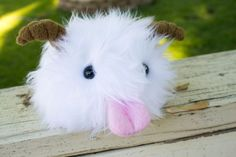Poro Plushie from League of Legends by BeeZeeArt on Etsy, $40.00