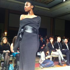 "Day 2 of Ottawa Fashion Week: Turbine label by Lisa Drader-Murphy, has ""received international coverage and the accolades of many celebrity clients such as Jennifer Love- Hewitt, Miss Pyle and Keshia Chante."" - OFW program"