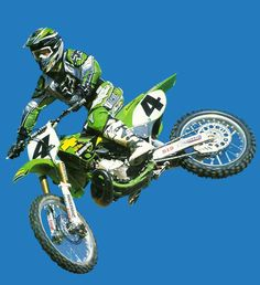 Ricky Carmichael KX250, I love the green! Nice!!