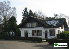 Oud huis aan de Arnhemseweg/Ooievaarshorsterweg in Leusden Zuid uit de 19e eeuw