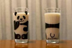 Good morning!  #milk #panda #cup