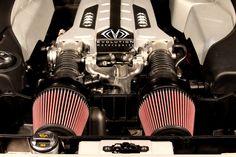 Evolution Motorsports Audi R8 V8 V-Flow Air Intake System