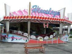 October 26 Picture Challenge: A picture of your favorite Fair ride!....Himalaya (My favorite ride at the South Florida fair)