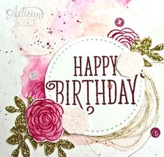 Dani's Thoughtful Corner: Stampin' UP! Artisan Design Team Blog Hop- Happy Birthday Gorgeous!