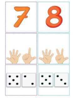 Have a PDF when you need a JPG picture? Use this online, free converter to get the job done. Body Preschool, Numbers Preschool, Math Numbers, Preschool Curriculum, Learning Numbers, Preschool Classroom, Kindergarten Math, Teaching Math, Math Games