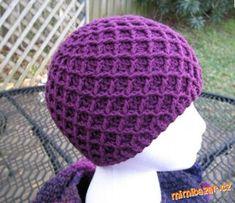 Diamond Ridges by Kristy Ashmore - Free crochet hat pattern Crochet Kids Hats, Crochet Cap, Crochet Beanie, Crochet Crafts, Crochet Clothes, Crochet Projects, Free Crochet, Knitted Hats, Double Crochet