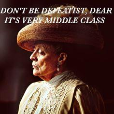I'm on a Downton Abbey kick.