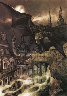 thegoddamnblogman: Victorian Batman - Dave Hitchcock & Matt Soffe   Batman
