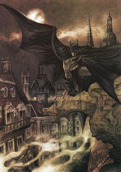 thegoddamnblogman: Victorian Batman - Dave Hitchcock & Matt Soffe | Batman