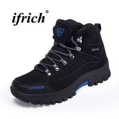 bff10f746b1 Buy Beita Auturm Winter Men Hiking Shoes High Top Outdoor Venture Sneakers  Male Climbing Trekking Boots Plus Size Sport Shoes