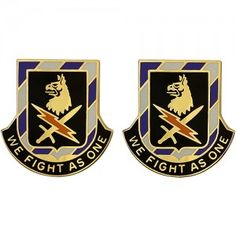U.S. Army Special Troops Battalion, 2nd Brigade, 3rd Infantry Division Unit Crest (We Fight As One)
