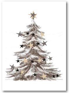 Christmastcard illustrated by @rozijntjes; seen on HappyMakersBlog.com