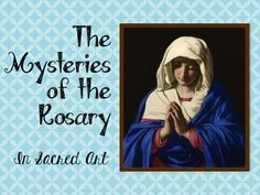 Project Sacred Art Images while praying the Rosary!