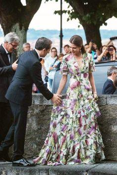 Charlotte Casiraghi of Monaco Charlotte Casiraghi, Royal Fashion, Look Fashion, Style Royal, Look Star, Princess Caroline Of Monaco, Glamour, Bridesmaid Dresses, Wedding Dresses