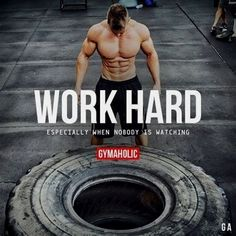 Gymaholic motivation. Daily fitness motivation in order to achieve your goals in the gym. Whether you want to build muscle or lose fat, we will help you. #FitnessInspiration