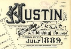 Austin, Texas #vintage