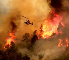 Another Helicopter Daringly Dousing A Wildland Fire. Draw On Photos, Cool Photos, Amazing Photos, Photography Tutorials, Photography Tips, American Firefighter, San Francisco Earthquake, Wildland Firefighter, Wild Fire