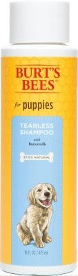 DOG GROOMING - SHAMPOOS & SOAP - BURTS BEES PUPPY BUTTERMILK/HONEY TEARLESS SHAMPOO 16OZ