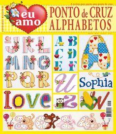 Reembolso Central :: Eu Amo Ponto de Cruz Alphabetos