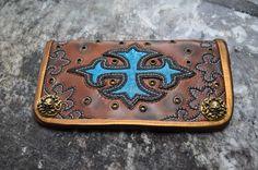 Wallet Welsh Dragon Cross (SOLD)